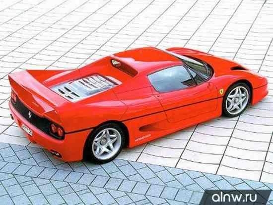 Руководство по ремонту Ferrari F50  Купе