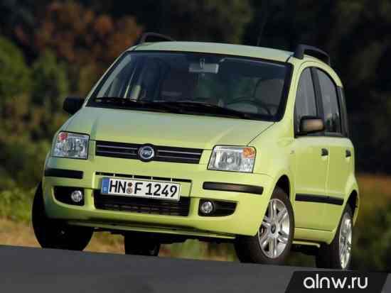 Руководство по ремонту Fiat Panda II Хэтчбек 5 дв.