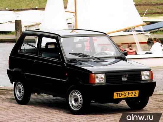 Каталог запасных частей Fiat Panda I Хэтчбек 3 дв.