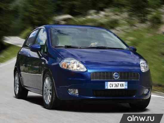 Руководство по ремонту Fiat Punto III Grande Punto Хэтчбек 5 дв.
