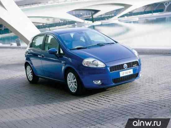 Каталог запасных частей Fiat Punto III Grande Punto Хэтчбек 5 дв.