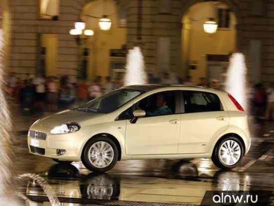Программа диагностики Fiat Punto III Grande Punto Хэтчбек 5 дв.