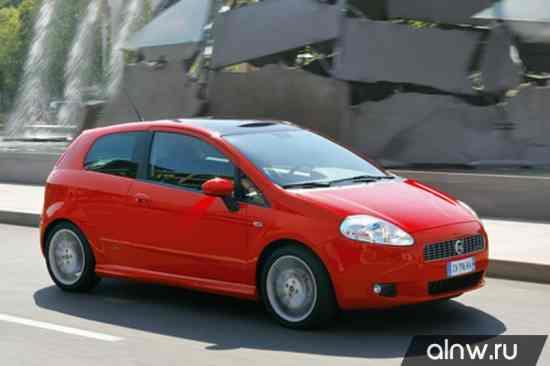 Fiat Punto III Grande Punto Хэтчбек 3 дв.