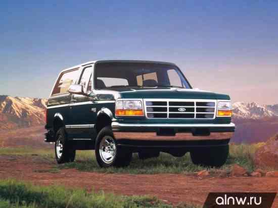 Ford Bronco V Внедорожник 3 дв.