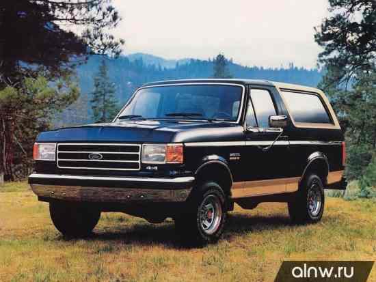 Руководство по ремонту Ford Bronco IV Внедорожник 3 дв.