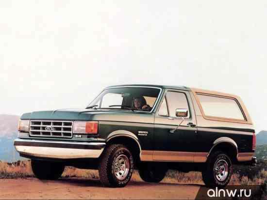 Инструкция по эксплуатации Ford Bronco IV Внедорожник 3 дв.