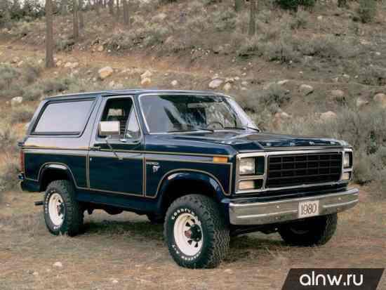 Ford Bronco III Внедорожник 3 дв.