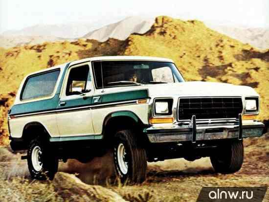 Ford Bronco II Внедорожник 3 дв.