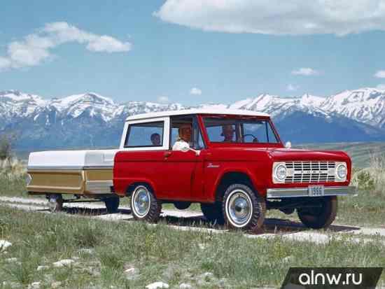Руководство по ремонту Ford Bronco I Внедорожник 3 дв.