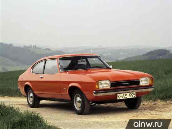 Руководство по ремонту Ford Capri II Купе