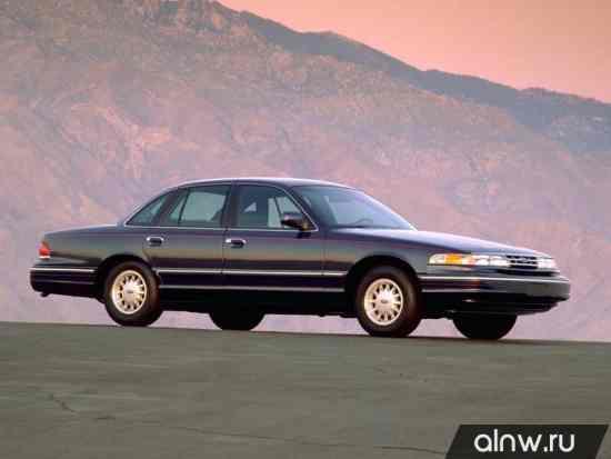 Каталог запасных частей Ford Crown Victoria I Седан