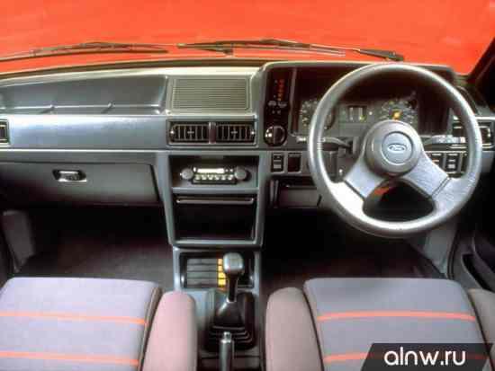Инструкция по эксплуатации Ford Escort III Хэтчбек 5 дв.