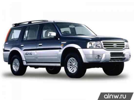 Ford Everest I Внедорожник 5 дв.
