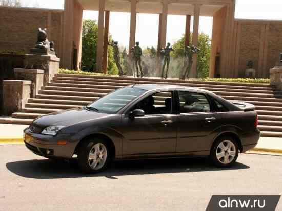 Ford Focus I Рестайлинг (North America) Седан