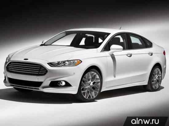 Каталог запасных частей Ford Fusion (North America) II Седан