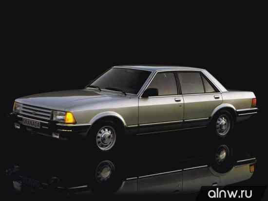 Каталог запасных частей Ford Granada II Седан