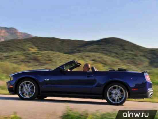 Программа диагностики Ford Mustang V Кабриолет