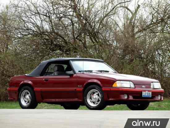 Каталог запасных частей Ford Mustang III Кабриолет