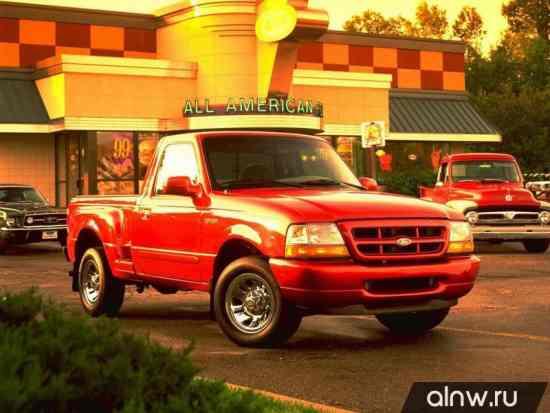 Ford Ranger (North America) III Пикап Одинарная кабина