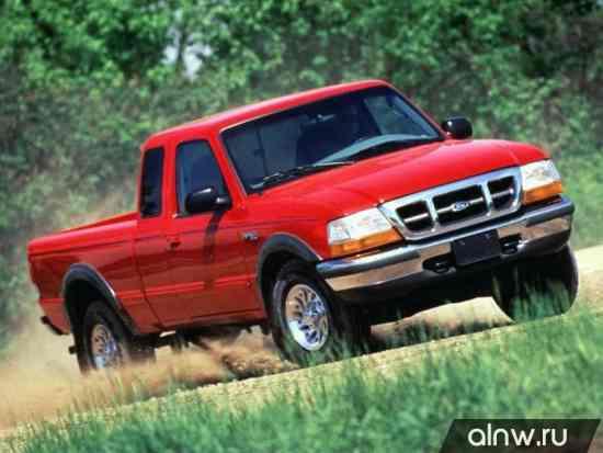 Ford Ranger (North America) III Пикап Полуторная кабина