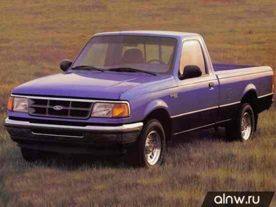 Ford Ranger (North America) II Пикап Одинарная кабина