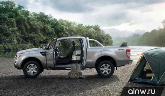 Инструкция по эксплуатации Ford Ranger III Пикап Полуторная кабина