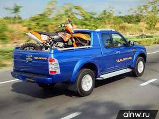 Ford Ranger II Рестайлинг Пикап Полуторная кабина