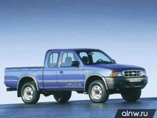 Руководство по ремонту Ford Ranger I Пикап Полуторная кабина