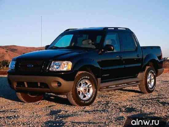 Руководство по ремонту Ford Sport Trac I Пикап Двойная кабина
