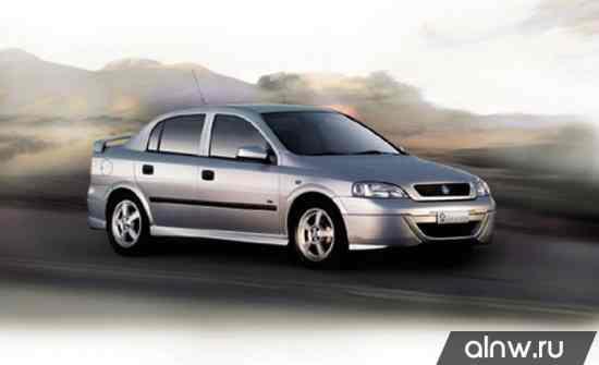 Руководство по ремонту Holden Astra  Седан