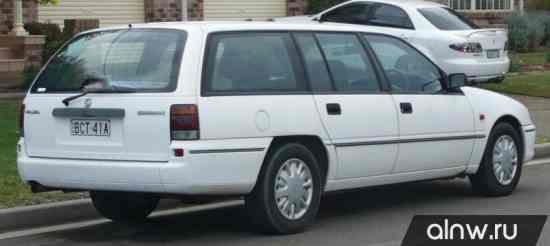 Каталог запасных частей Holden Commodore II (VS) Универсал 5 дв.