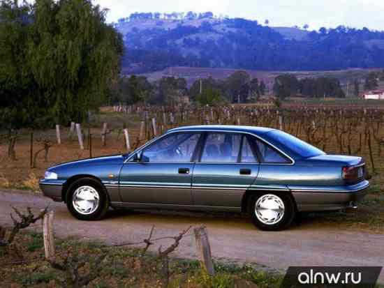 Каталог запасных частей Holden Commodore II (VS) Седан
