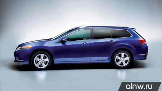 Каталог запасных частей Honda Accord VIII Универсал 5 дв.