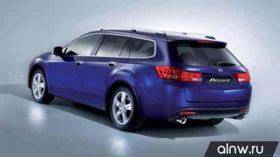 Программа диагностики Honda Accord VIII Универсал 5 дв.