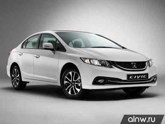 Honda Civic IX Рестайлинг Седан