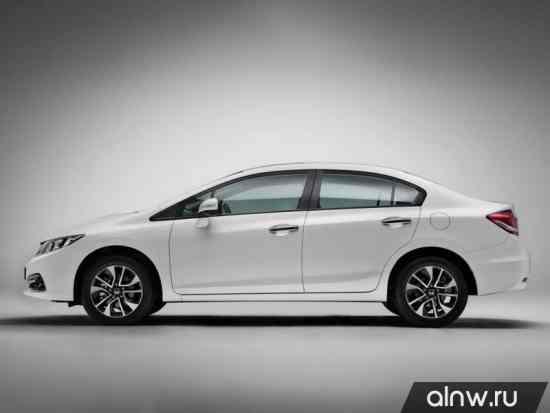 Каталог запасных частей Honda Civic IX Рестайлинг Седан