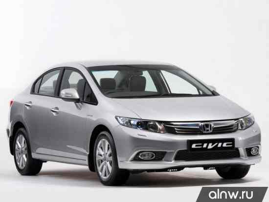 Руководство по ремонту Honda Civic IX Седан