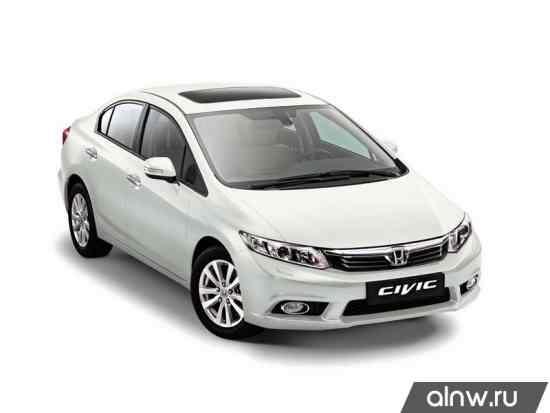 Каталог запасных частей Honda Civic IX Седан