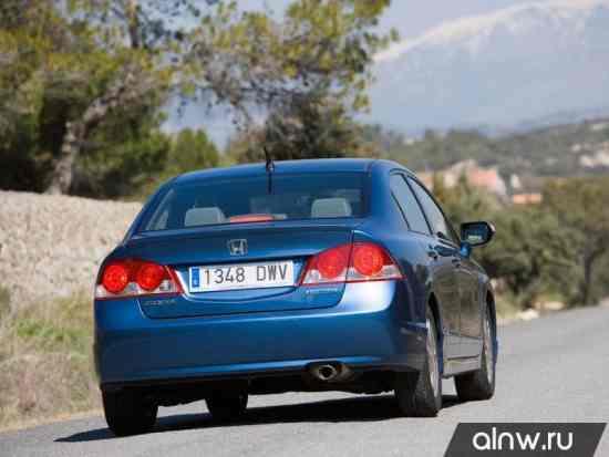 Каталог запасных частей Honda Civic VIII Седан