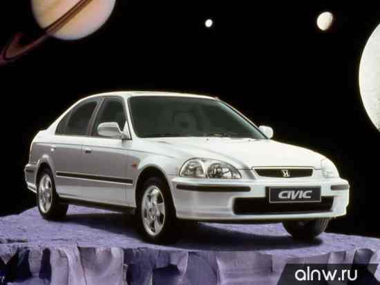 Руководство по ремонту Honda Civic VI Седан