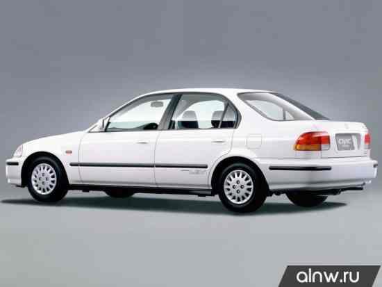 Каталог запасных частей Honda Civic VI Седан