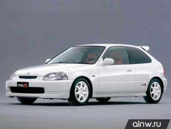 Каталог запасных частей Honda Civic VI Хэтчбек 3 дв.