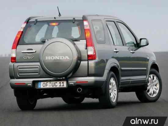 Программа диагностики Honda CR-V II Внедорожник 5 дв.
