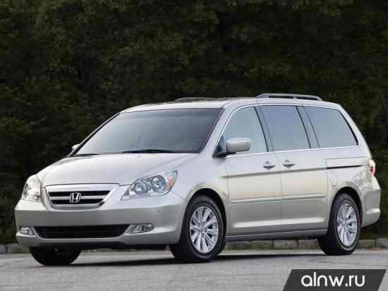 Руководство по ремонту Honda Odyssey (North America) III Минивэн