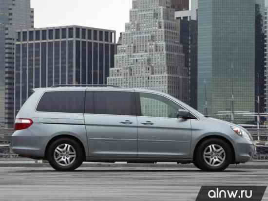 Каталог запасных частей Honda Odyssey (North America) III Минивэн