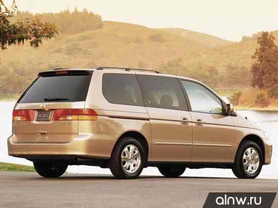 Каталог запасных частей Honda Odyssey (North America) II Минивэн