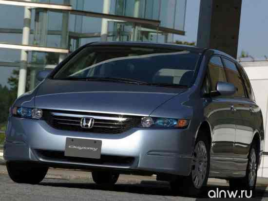 Программа диагностики Honda Odyssey III Компактвэн