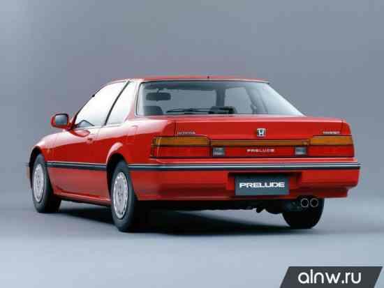 Каталог запасных частей Honda Prelude III Купе