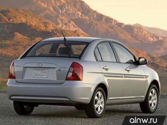 Каталог запасных частей Hyundai Accent III Седан