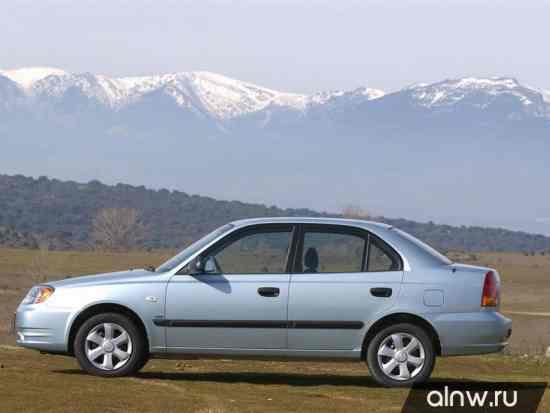 Каталог запасных частей Hyundai Accent II Седан